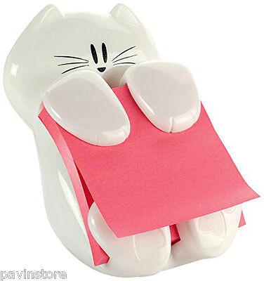 Post-it Cat Figure Pop Up Note Dispenser Cute Home Office Desk Vary Pads Colors