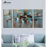 Framed Hand Painted Original Canvas Wall Art Painting Home Decor 3-piece/Set