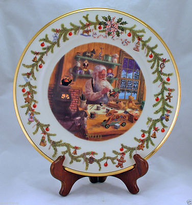 Nib Lenox Annual Holiday Collector Plate Santa 2010 First In Series 11   D