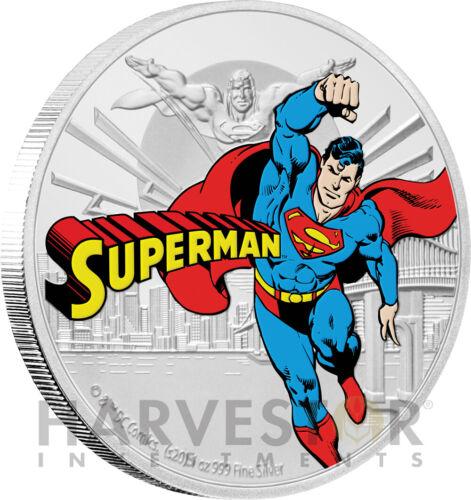 2020 JUSTICE LEAGUE 60TH ANNIVERSARY - SUPERMAN - 1 OZ. SILVER COIN - FOURTH