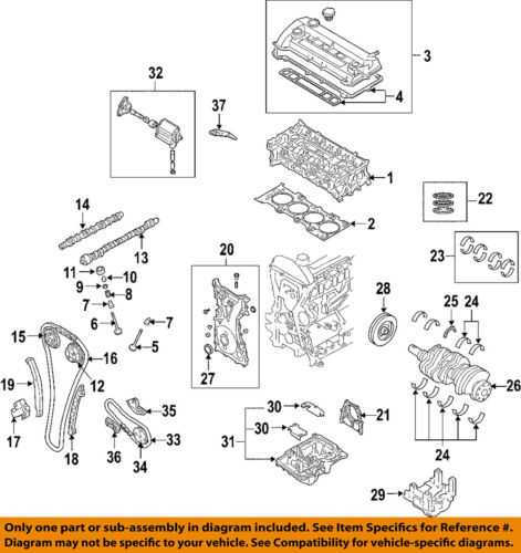 details about mazda oem 07 12 cx 7 engine timing chain l3k912201a 2012 Mazda CX-9