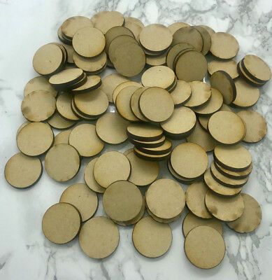 - Crafting Supplies MDF Wooden Circle Laser Cut 1/2 3/4  1 1/4 1 1/2  3/4 2