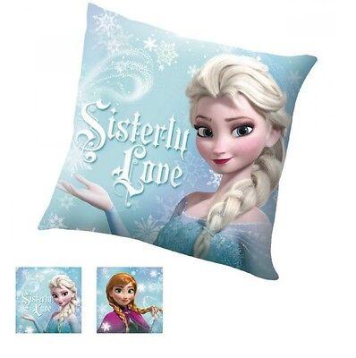 Disney Kissen Dekokissen mit Frozen Eiskönigin (Anna&Elsa) Motiv 40x40cm Neu&Ovp