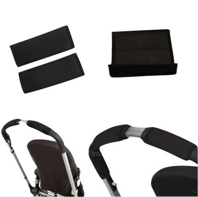 Black soft Fabric Handle Cover Chassis To fit your iCandy baby strollers Black for sale  Shipping to Canada