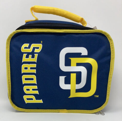 San Diego Padres Sacked Lunchbox Cooler Removable Divider So