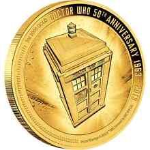 Doctor who gold coin rare Adelaide CBD Adelaide City Preview