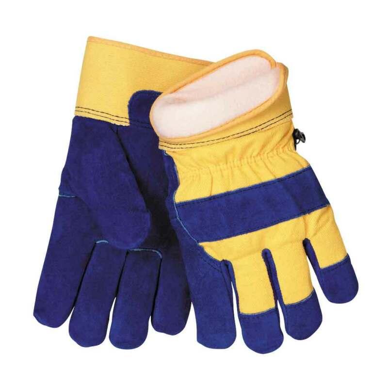 Tillman 1568 Split Cowhide ColdBlock Lined Waterproof Winter Work Gloves Large