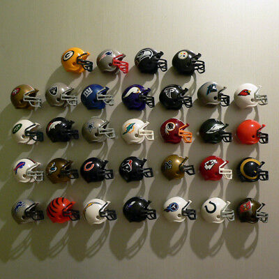 NFL Mini Helm Kühlschrankmagnet / Fridge Magnet - American Football - Alle Teams