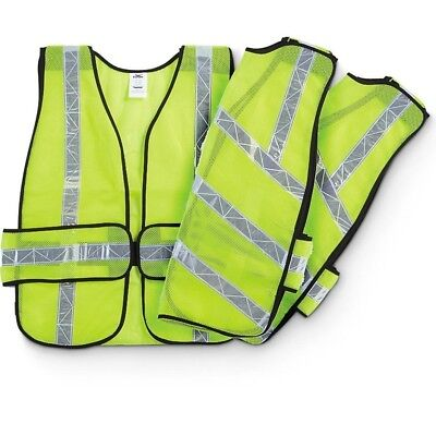 Condor High Visibility Safety Vests 2 Pack Reflective 1APP5A Cool Mesh (Reflection Apps)
