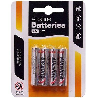 4 X AAA Alkaline Batterien 1.5v Heavy Duty Dreifach A Kamera Fernbedienung Aaa-alkaline