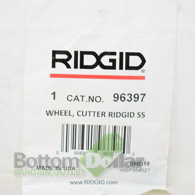 Ridgid 96397 Stainless Steel Cutter Wheel
