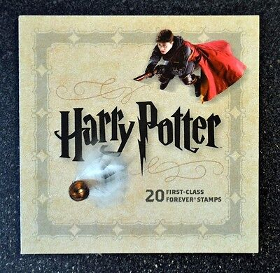2013Usa  4825 4844 Forever Harry Potter Souvenir Booklet Of 20  Mint  Postage