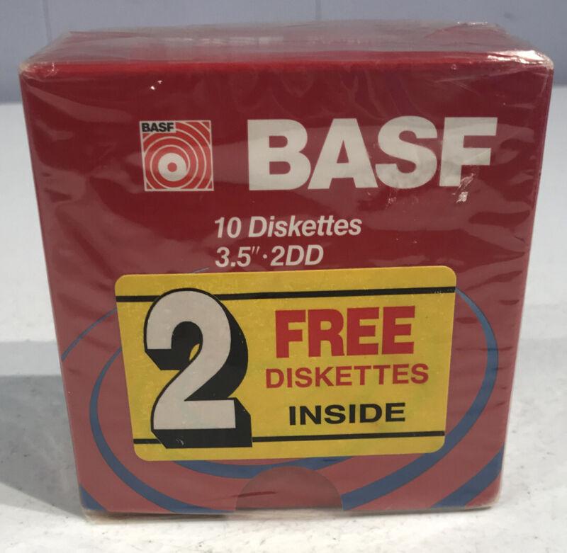 BASF 3.5 Inch Two Sided Double Density Floppy Disk - 2DD 2HD Verbatim HD
