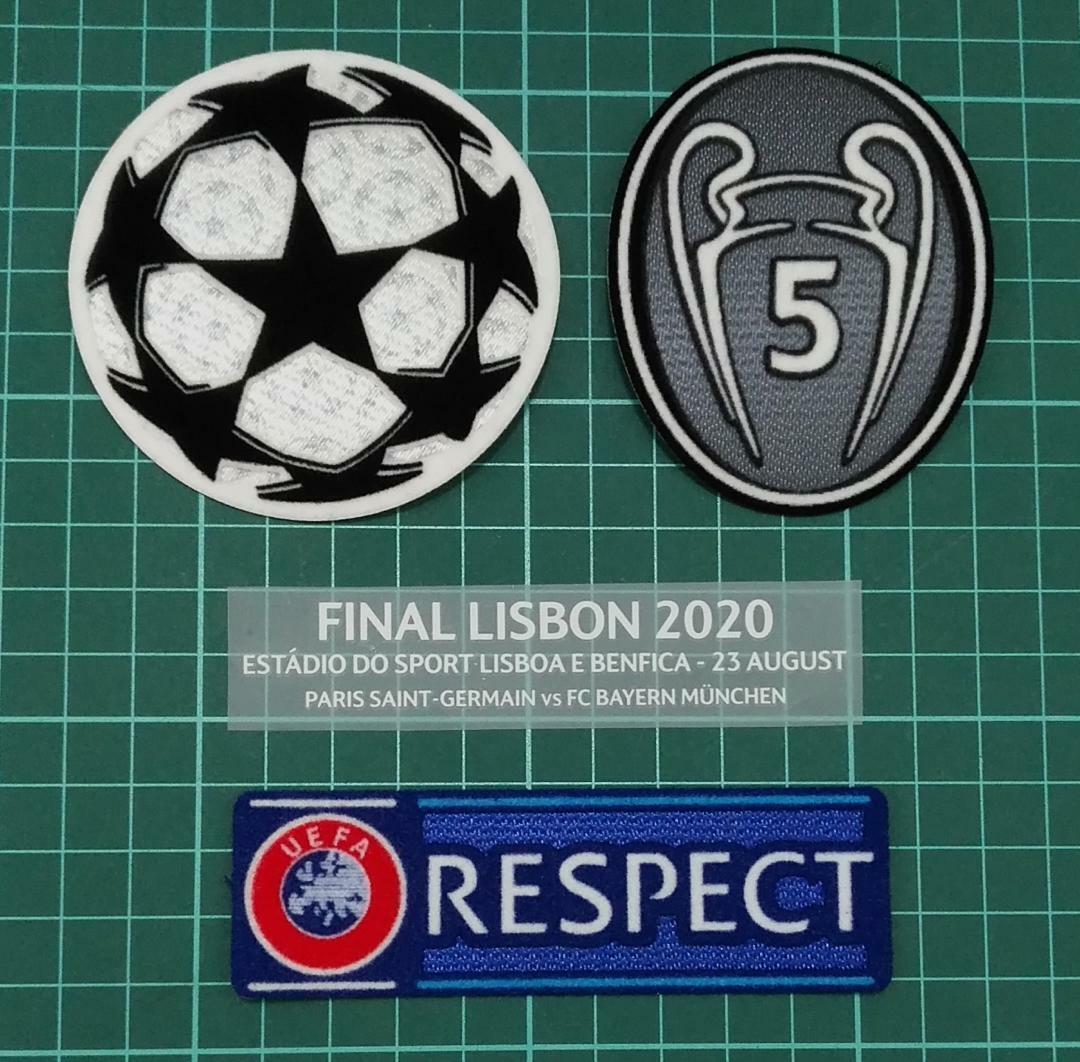 Champion League Final Lisbon 2020 FC Bayern Munchen vs Paris Saint-Germain patch