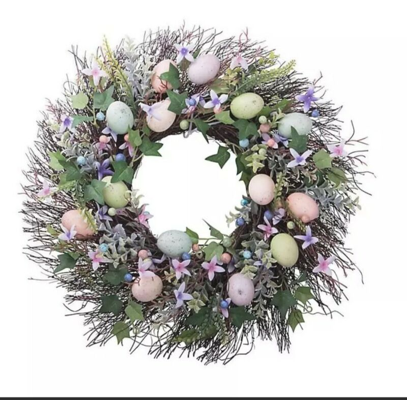 Heritage Home 21-Inch Easter Wreath