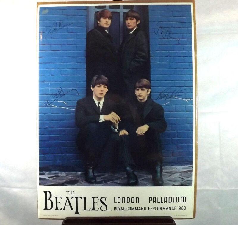 "Beatles Poster "" Palladium 1963 """