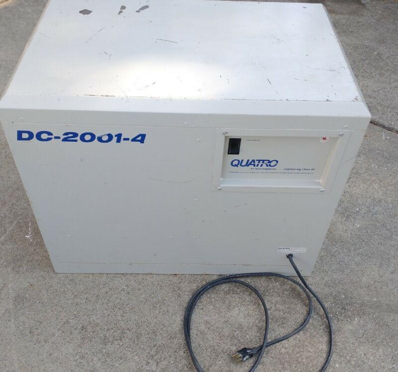 Quatro Air Technologies Dust Collector Model DC2001-4 Dental