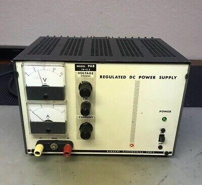 Kikusui Electronics Corp. Model Pab 18v Regulated Dc Power Supply