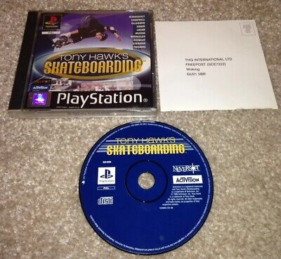Tony Hawk's Skateboarding Hawks Pro Skater Boxed Sony PlayStation 1 PS1 Game