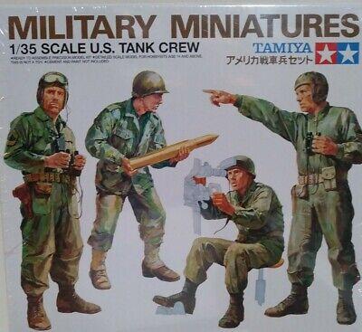 35 Us Army Tank - Tamiya 1/35 scale kit 35004, US army tank crew.