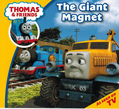 Thomas and Friends Story - My First Story Time Set: THE GIANT MAGNET - (Giant Thomas The Tank Engine Train Set)