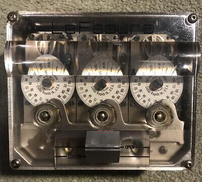 Vintage Lefebure Delayed Action Timelock Time Lock
