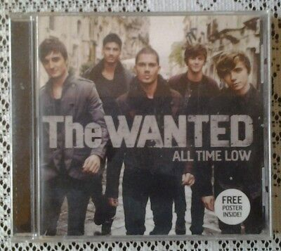 CD   The Wanted........all time low.....rare free poster