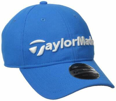 TaylorMade Golf 2017 Boys Junior Radar Adjustable Hat Cap - Blue Blue Adjustable Golf Hat