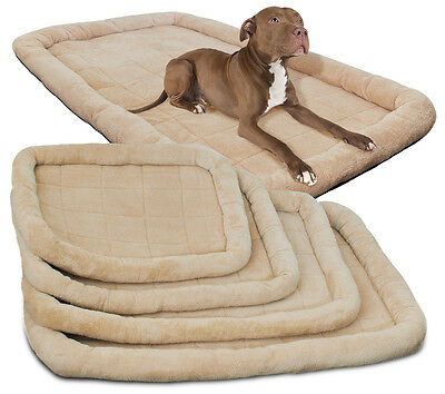 Pet Bed for Dog Cat Crate Mat Soft Warm Pad Liner Home Indoor -