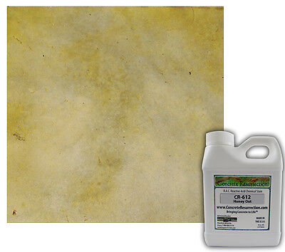 Professional Easy To Apply Concrete Acid Stain-honey Oat 16oz