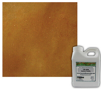 Professional Easy To Apply Concrete Acid Stain-western Saddle 16oz