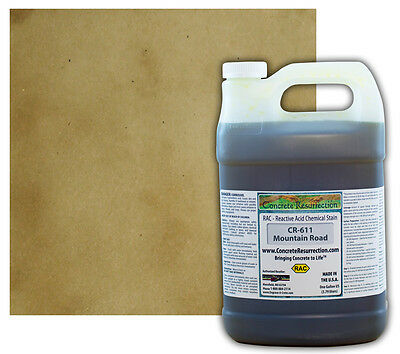 Professional Easy To Apply Concrete Acid Stain-mountain Road - 1 Gallon