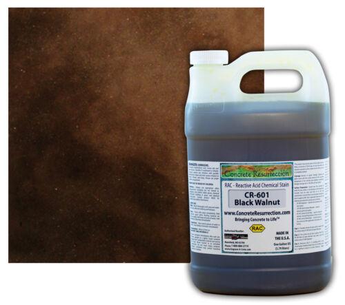 Professional Easy to Apply Concrete Acid Stain-Black Walnut - 1 Gallon