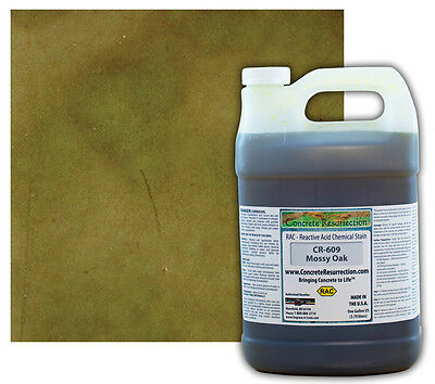 Professional Easy To Apply Concrete Acid Stain-mossy Oak - 1 Gallon