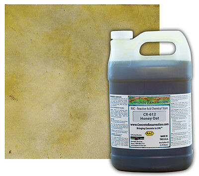 Professional Easy To Apply Concrete Acid Stain-honey Oat - 1 Gallon