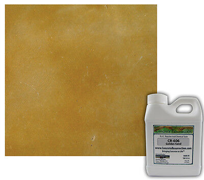 Professional Easy To Apply Concrete Acid Stain-golden Sand 16oz