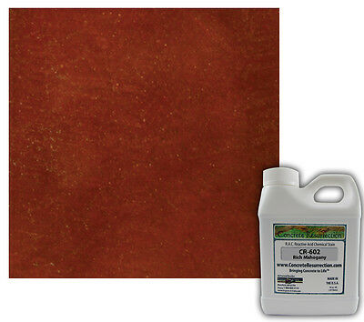 Professional Easy To Apply Concrete Acid Stain-rich Mahogany 16oz