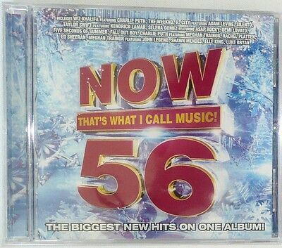 Now Thats What I Call Music  Vol  56 Cd By Various Artists 2015  New