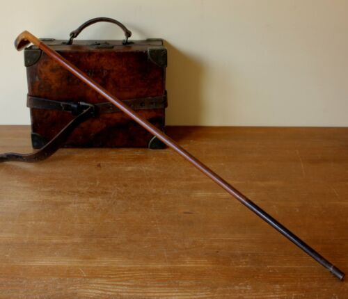 Antique Sunday Stick. Wooden Golf Club Walking Stick Cane. c1900