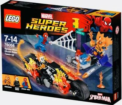 LEGO Super Heroes 76058 Spider-Man: Ghost Rider Team-up Buildin.