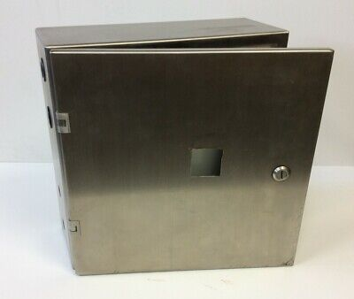 Hammond 2s16166 Stainless Steel Electrical Control Panel Enclosure 16x 16x 6