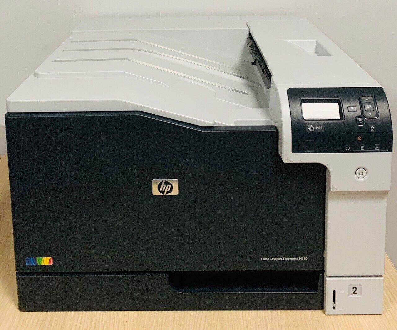Hp d3l09a colorlaserjet enterprise m750 imprimante laser couleurs a3, net, 30ppm