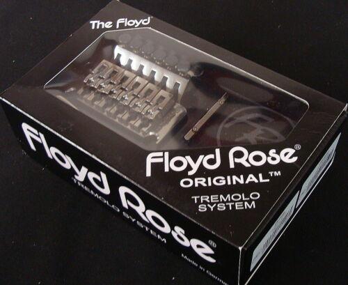 Floyd Rose Original Tremolo System, Black Nickel.  FRT500 with R3 Nut