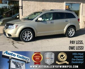 2011 Dodge Journey R/T *AWD/B.tooth/Htd Lthr/7 Pass