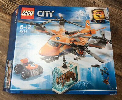 Lego City Arctic Expedition Artic Air Transporter Helicopter with Quad - 60193.