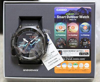 CASIO smart outdoor watch WSD-F10BK EMS speedpost
