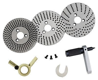 WABECO Teilscheiben zu Teilapparate Ø 110/150 mm Lochscheiben zu Rundtisch 11514