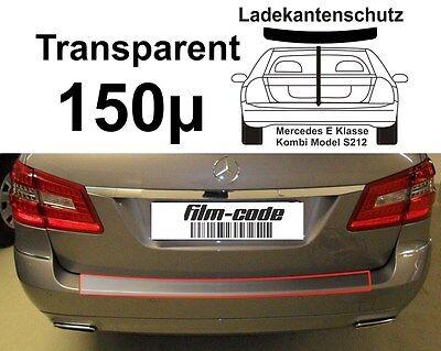 Lackschutzfolie Ladekantenschutz  Mercedes E Klasse Kombi S212 transparent 150µ