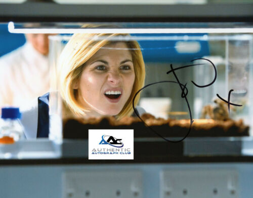 JODIE WHITTAKER AUTOGRAPH SIGNED 8X10 PHOTO DR WHO COA