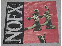NOFX T-Shirt Punk in Drublic Album Cover New Aiuthentic S M L XL